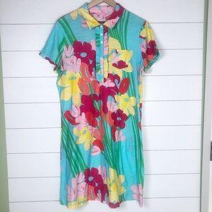 Lilly Pulitzer • Carolyn Dress XL Shorley Blue